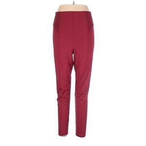 Free people high waist red workout leggings